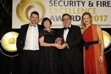 Security and fire excellence award