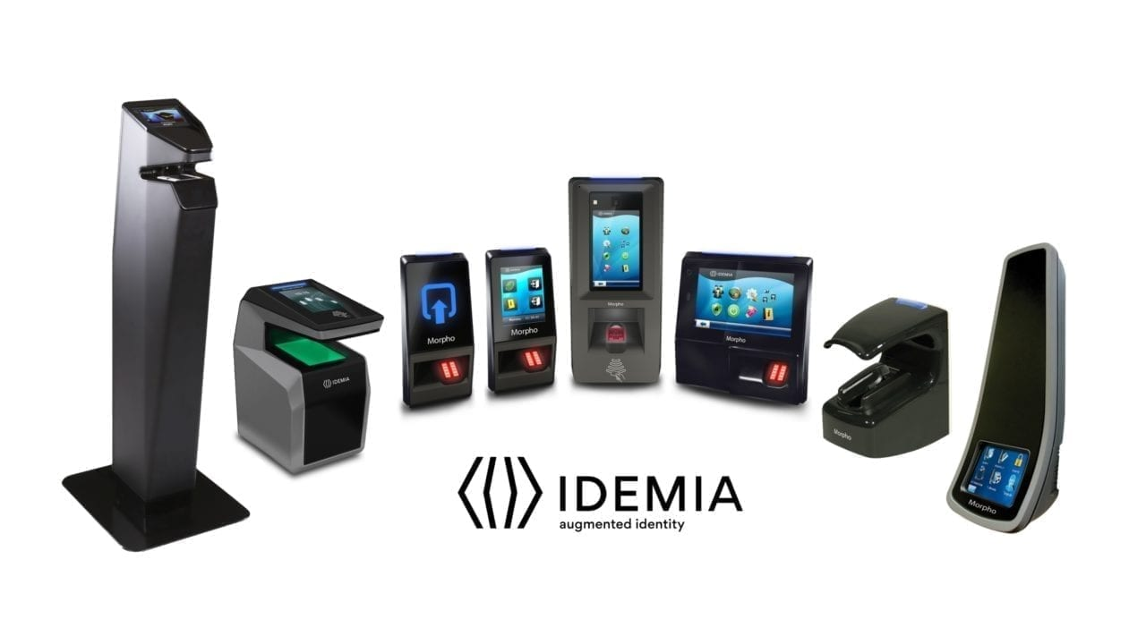 IDEMIA biometric access readers